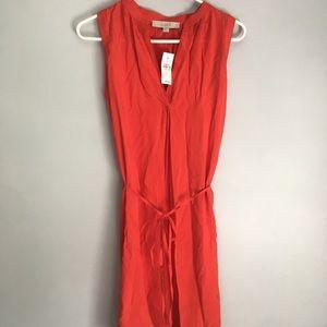 LOFT Burnt Orange Dress